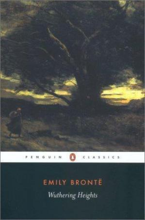 Book cover Wuthering Heights