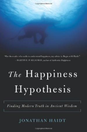 Book cover The Happiness Hypothesis: Finding Modern Truth in Ancient Wisdom