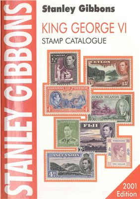 Book cover King George VI, Stamp Catalogue
