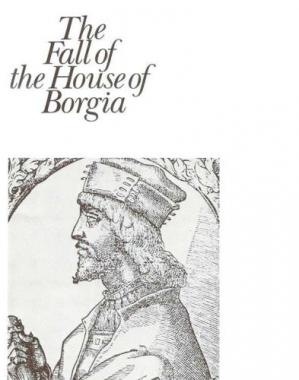 Sampul buku The Fall of the House of Borgia
