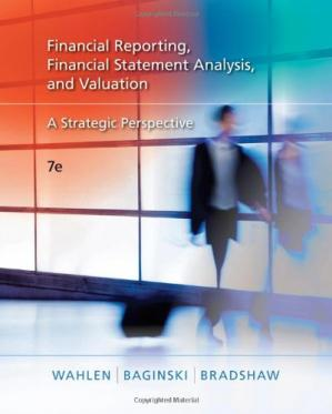Book cover Financial Reporting, Financial Statement Analysis, and Valuation: A Strategic Perspective