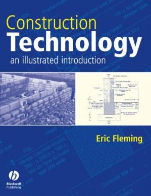 表紙 Construction Technology - An Illustrated Introduction [buildings, architecture
