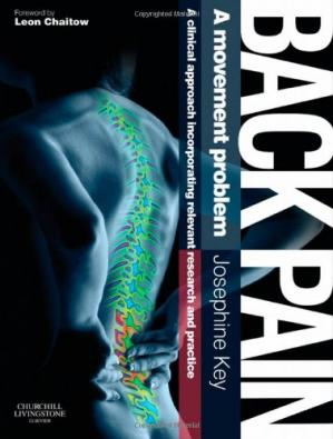 Book cover Back Pain - A Movement Problem: A clinical approach incorporating relevant research and practice