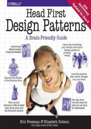 Book cover Head First Design Patterns: A Brain-Friendly Guide