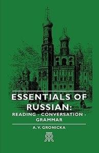 Book cover Essentials of Russian: Reading, conversation, grammar