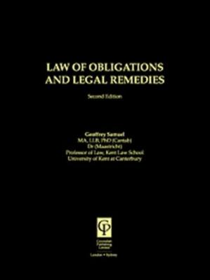 Buchdeckel Law Of Obligations And Legal Remedies