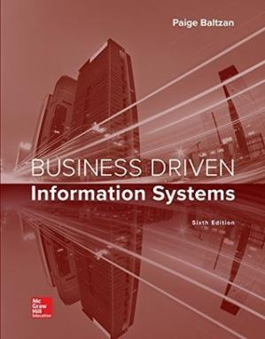 Book cover Business Driven Information Systems