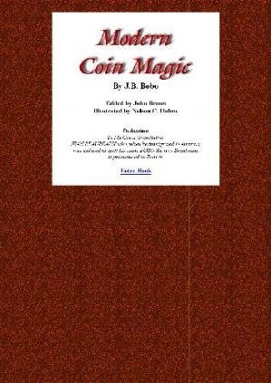 Book cover Modern Coin Magic (recommended by David DeAngelo)