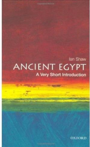 Copertina Ancient Egypt - a Very Short Introduction