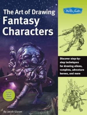 Book cover The Art of Drawing Fantasy Characters
