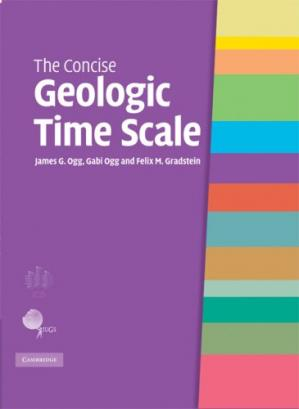 Book cover The Concise Geologic Time Scale
