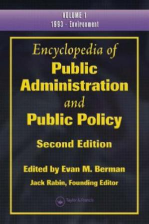 A capa do livro Encyclopedia of Public Administration and Public Policy, First Edition