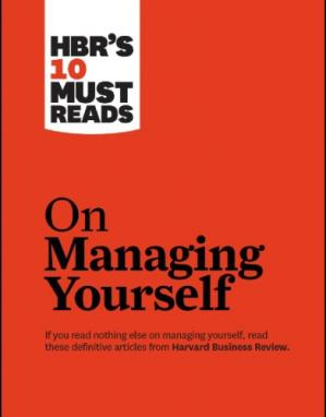 Book cover HBR's 10 Must Reads on Managing Yourself