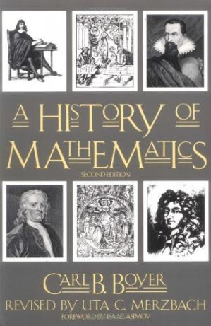 Book cover A history of mathematics