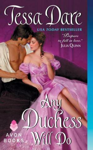 Book cover Any Duchess Will Do