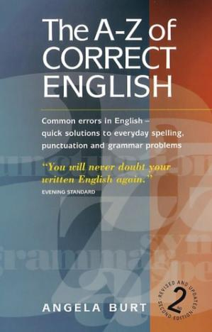 Book cover The A-Z Of Correct English