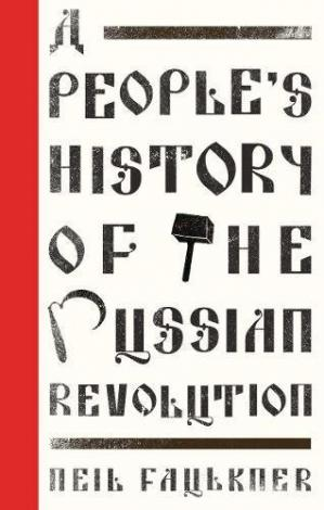 A capa do livro A People's History of the Russian Revolution
