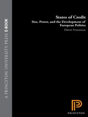 Book cover States of Credit: Size, Power, and the Development of European Polities