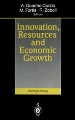 Book cover Innovation, Resources and Economic Growth
