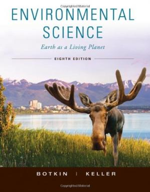 Book cover Environmental Science: Earth as a Living Planet, 8th Edition