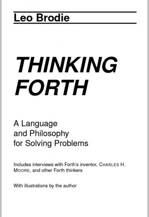 पुस्तक कवर Thinking Forth: A Language and Philosophy for Solving Problems