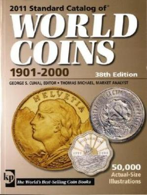 Book cover 2010 Standard Catalog of World Coins - 1901-2000