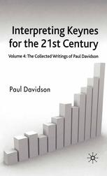 పుస్తక అట్ట Interpreting Keynes for the 21st Century: Volume 4: The Collected Writings of Paul Davidson