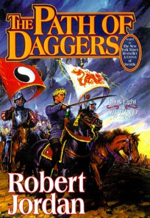 Copertina The Path of Daggers (The Wheel of Time, Book 8)