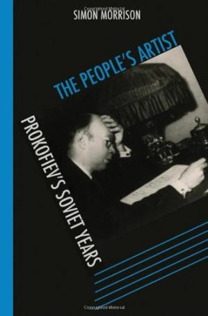 A capa do livro The people's artist: Prokofiev's Soviet years