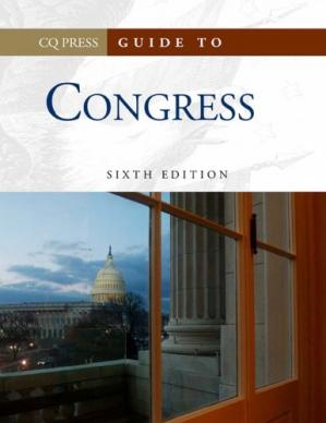 Copertina Guide to Congress (Congressional Quarterly's Guide to Congress) Two Volume Set