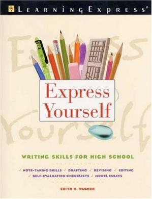 Book cover Express yourself: Writing skills for high school
