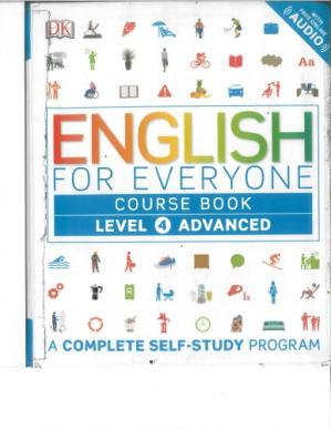 Okładka książki English for Everyone - Level 4 Advanced - Course Book