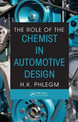 Book cover The role of the chemist in automotive design