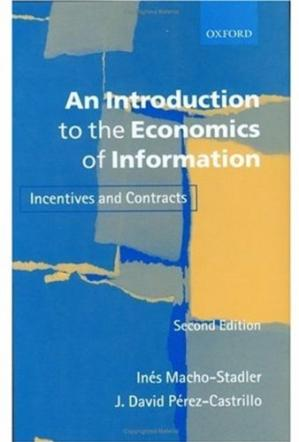 Обкладинка книги An Introduction to the Economics of Information: Incentives and Contracts