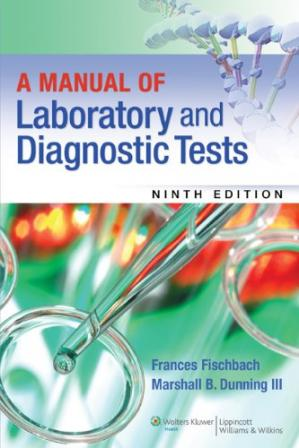 Book cover A Manual of Laboratory and Diagnostic Tests