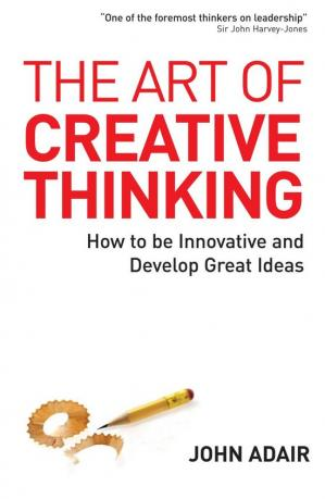 წიგნის ყდა The Art of Creative Thinking: How to Be Innovative and Develop Great Ideas