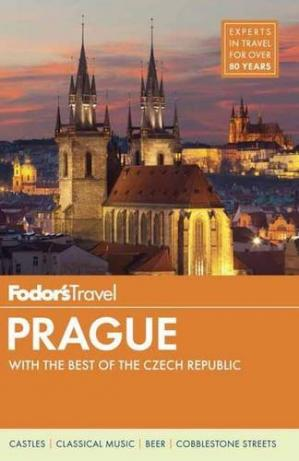 Book cover Fodor's Prague: with the Best of the Czech Republic