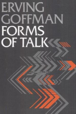 Book cover Forms of Talk