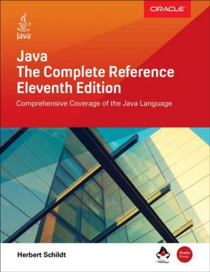 Book cover Java: The Complete Reference, Eleventh Edition
