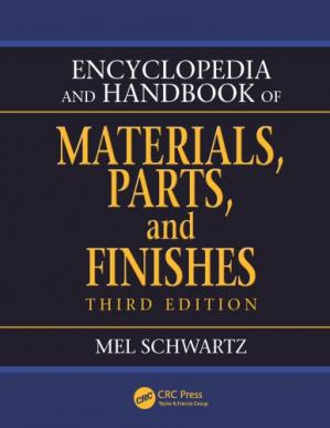 A capa do livro Encyclopedia and handbook of materials, parts, and finishes