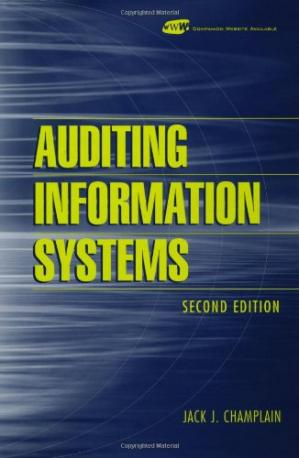 Book cover Auditing Information Systems