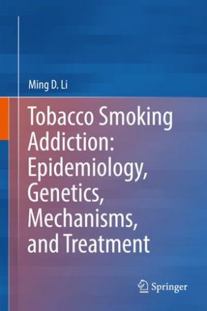 A capa do livro Tobacco Smoking Addiction: Epidemiology, Genetics, Mechanisms, and Treatment