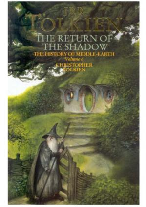 Copertina The History of the Lord of the Rings 01-The Return of the Shadow