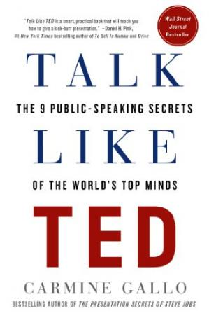 Գրքի կազմ Talk Like TED: The 9 Public-Speaking Secrets of the World's Top Minds