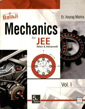 A capa do livro Mechanics for JEE (Main & Advanced) Volume 1