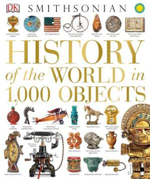 A capa do livro History of the World in 1,000 Objects
