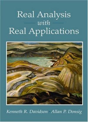 غلاف الكتاب Real Analysis with Real Applications