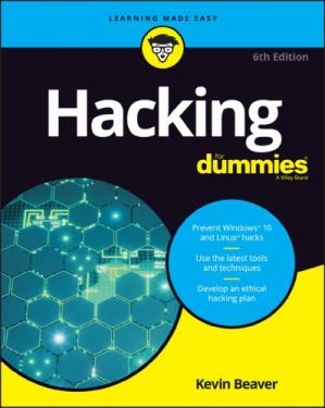 Book cover Hacking for Dummies