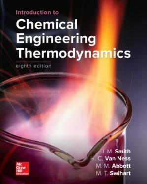 Book cover Introduction to Chemical Engineering Thermodynamics
