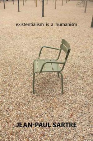 Book cover Existentialism Is a Humanism